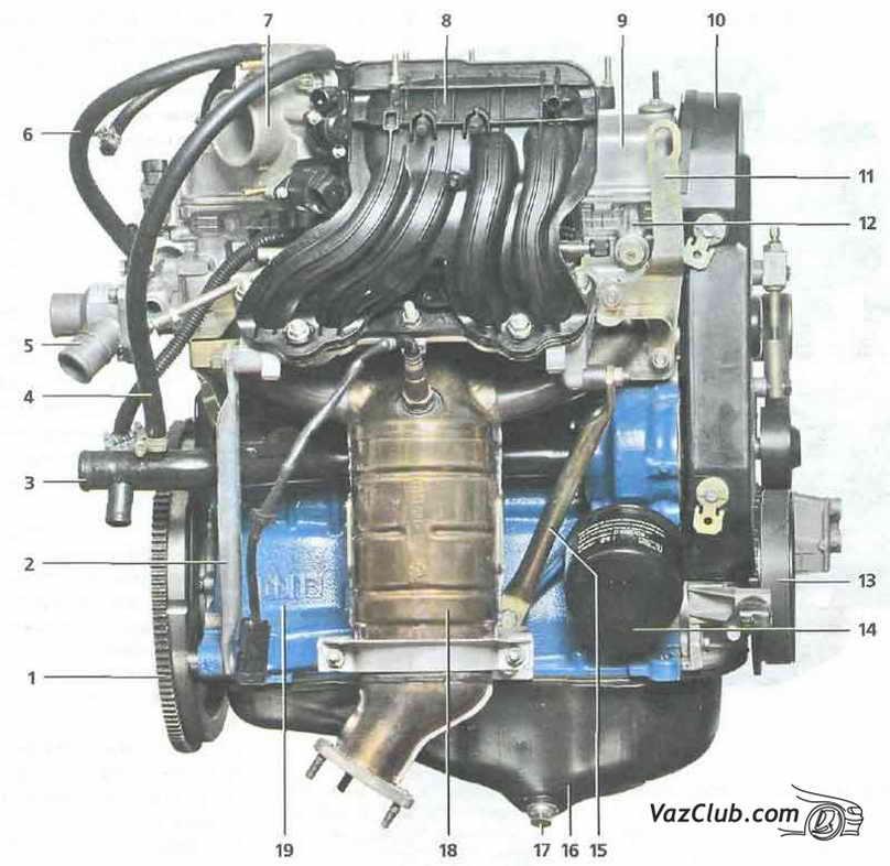 двигатель ваз 1118