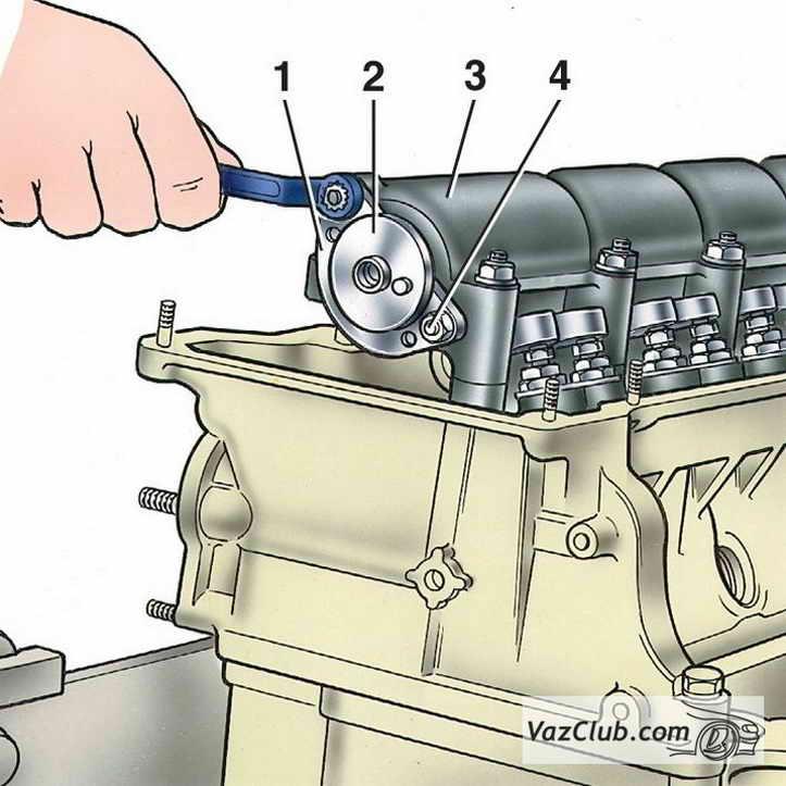 Замена маслосъемных колпачков на Ваз 2107