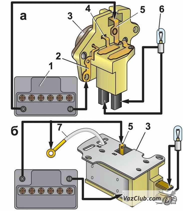 Фото №8 - ВАЗ 2110 как проверить реле регулятор генератора