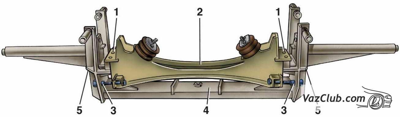Передняя подвеска ваз 2107