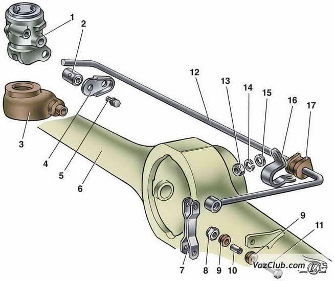 Замена регулятора задних