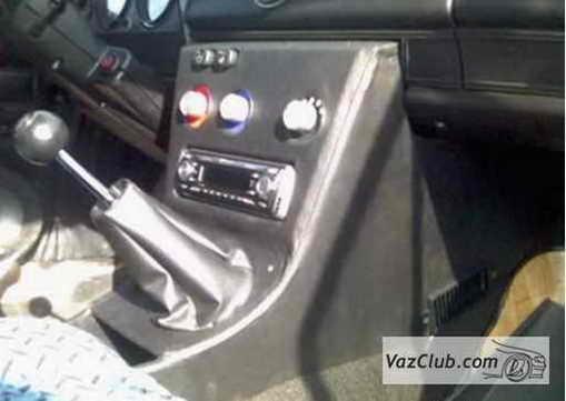 Консоль для авто своими руками