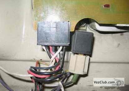 Электрическая схема ВАЗ 2107,