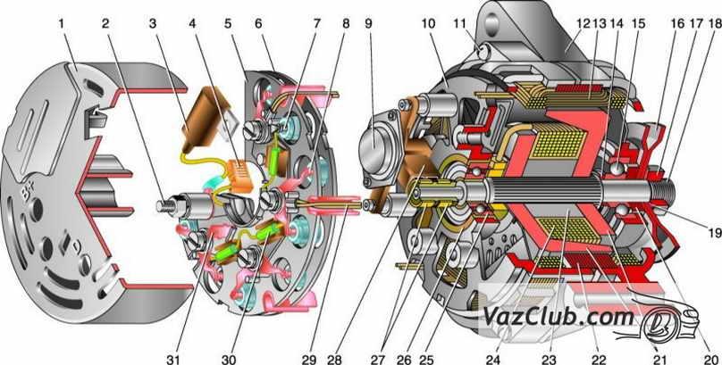 генератор нива 2131