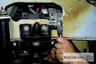 Замена кронштейна буфера передней подвески ваз 2121