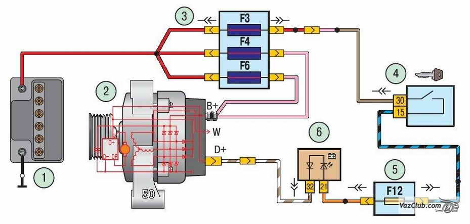 Схема шевроле ланос