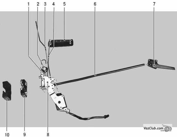 Снятие и установка замка передней двери Ваз 2170 Приора.