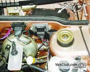 электрическая схема ваз 2109