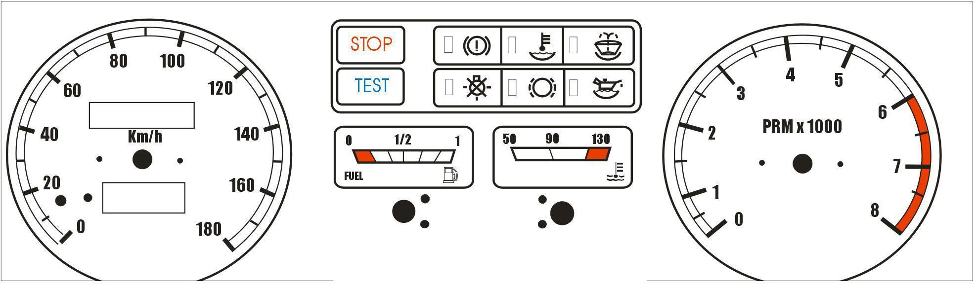 изображения приборов на электрических схемах