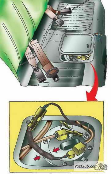 Элементы и устройство системы питания двигателя ваз 2114 ваз 2115.