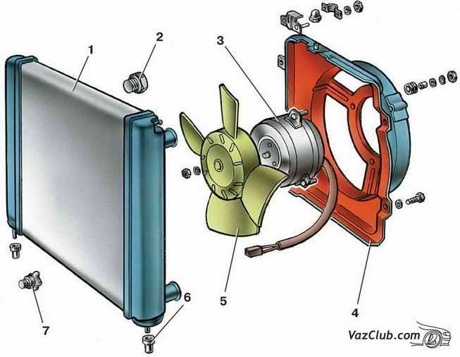 Облицовка радиатора ВАЗ 2114.