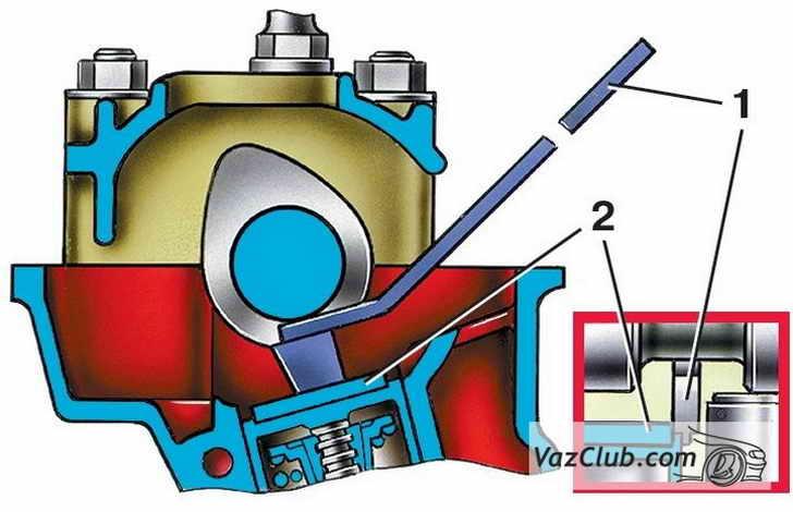 Регулировка клапанов на ваз 2115 инжектор своими руками
