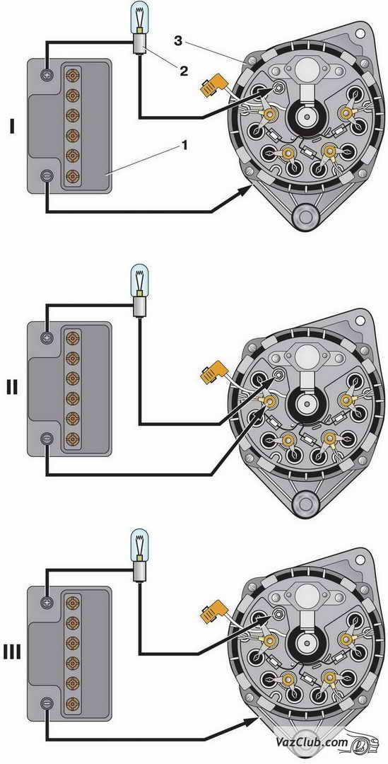 проверка генератора ваз 2114