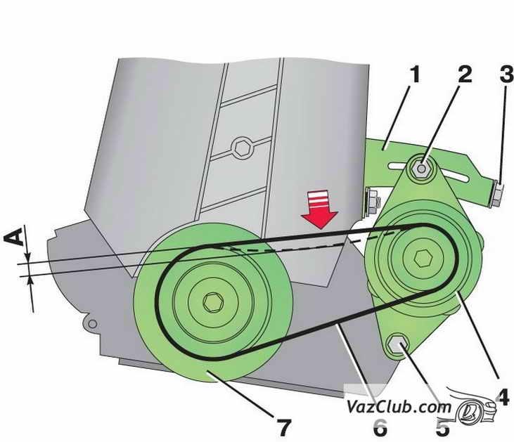 ремонт генератора лада самара