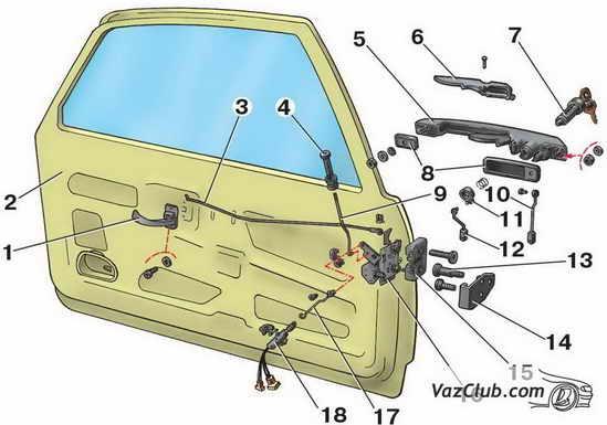 Как заменить дверь в авто